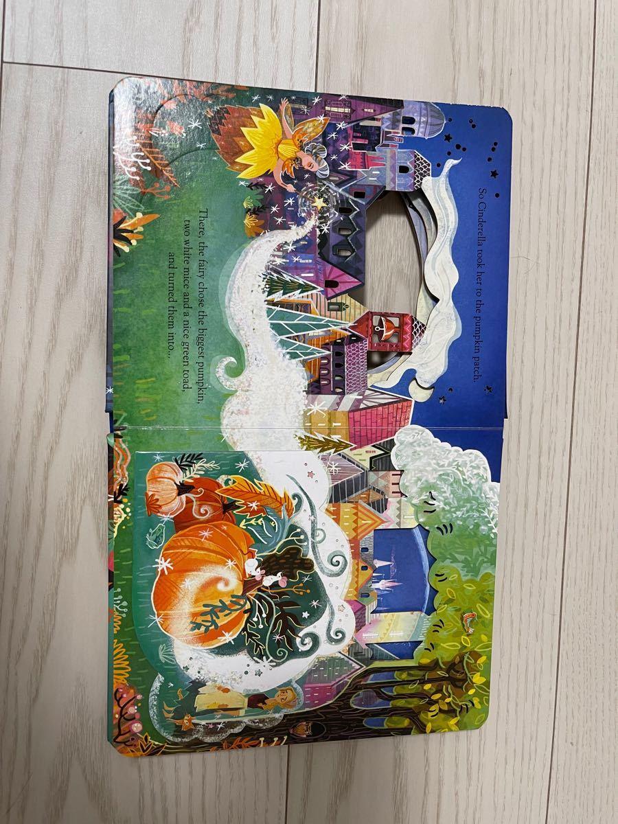 子供英語絵本 ボードブック Usborne  Cinderella シンデレラ