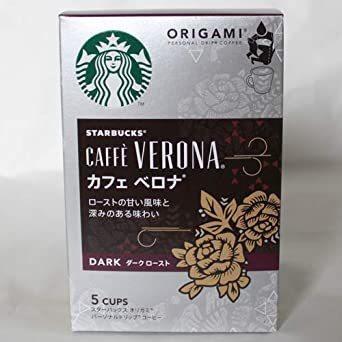スターバックス オリガミドリップコーヒー カフェベロナ 6個_画像2