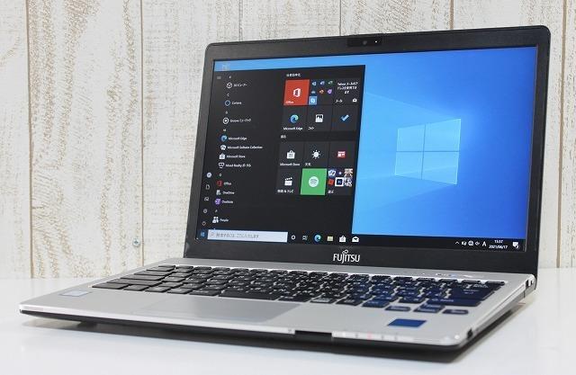 1円スタート 爆速 高性能 富士通 LIFEBOOK S936/M Windows10Pro 第6世代 Core i5 2.4GHz メモリ12GB SSD256GB カスタマイズ可 カメラ 無線
