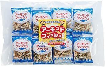 e-hiroya 無添加 小袋 アーモンドフィッシュ 20袋 給食用 国産 小魚_画像1