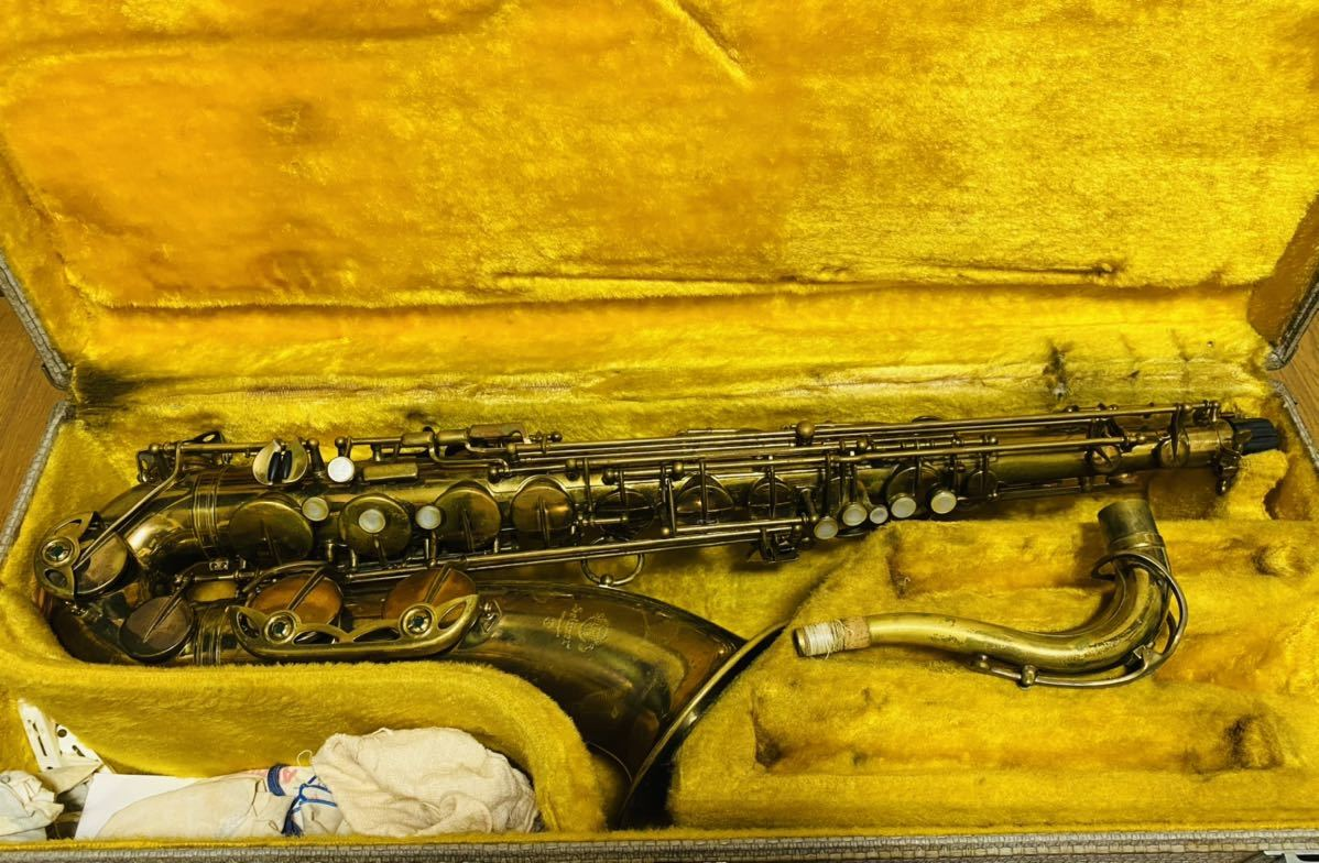 SELMER MARK Ⅵ Tenor saxophone セルマー マーク6 テナーサックス M189684 18万番台 フランス製