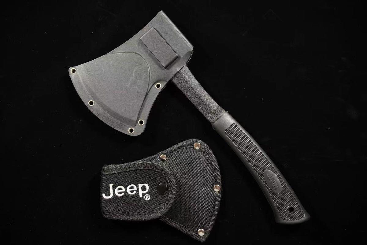 JEEP 斧 ハンドアックス 焚き火 薪割り テント タープ ナイフのお供に