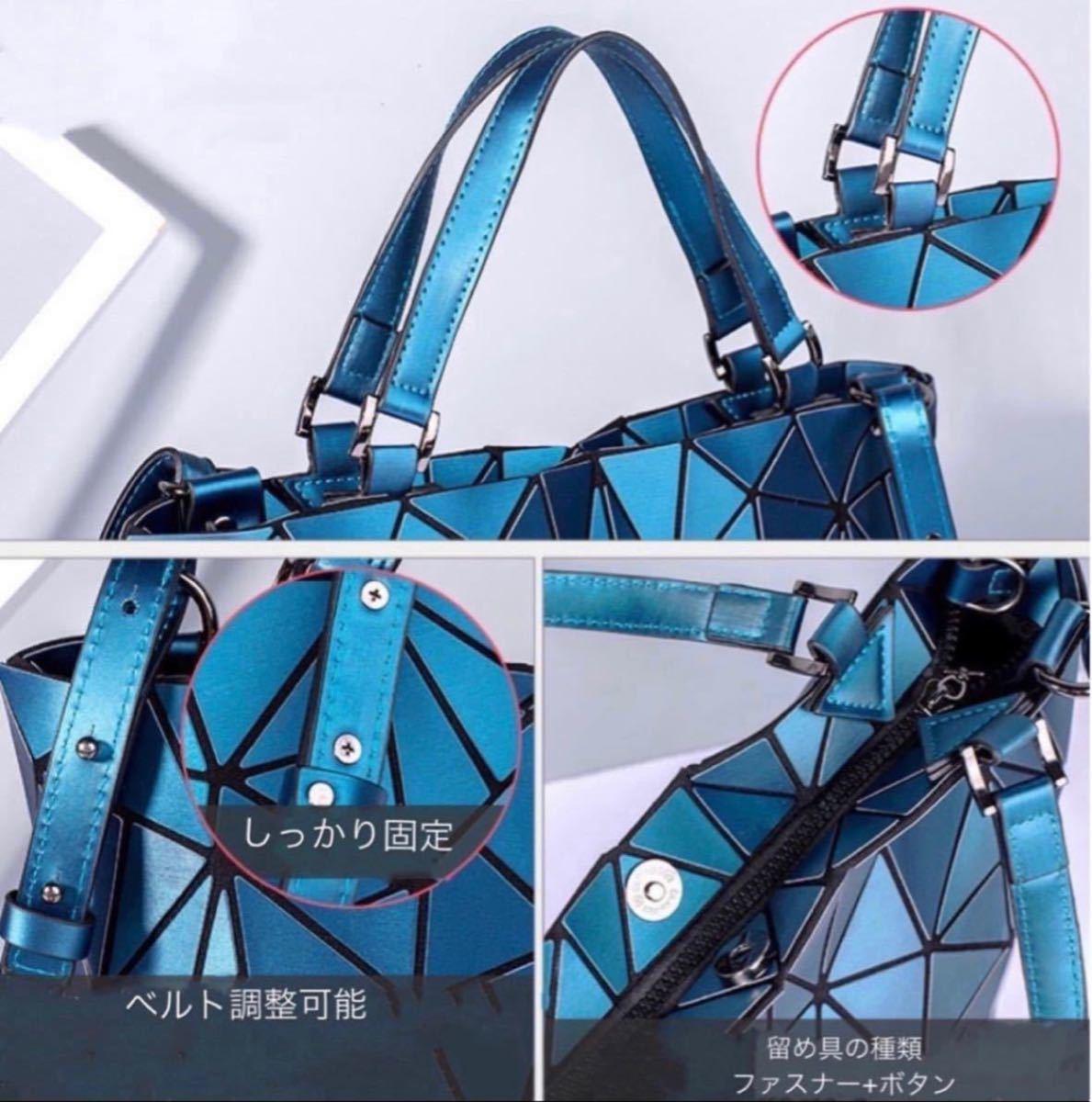 レディースバッグ ショルダーバッグ ハンドバッグ トートバッグ 大容量 多機能 肩掛け 2way シルバー