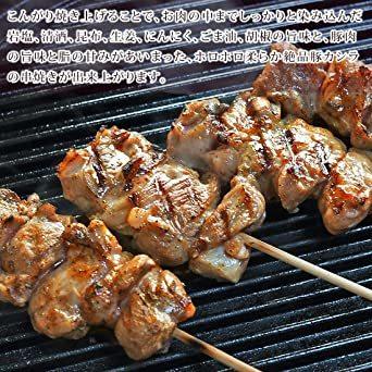 焼きとん 豚カシラ串 焼肉だれ 塩 100本 BBQ バーベキュー 焼肉 焼鳥 焼き鳥 惣菜 おつまみ 家飲み グリル ギフト _画像6