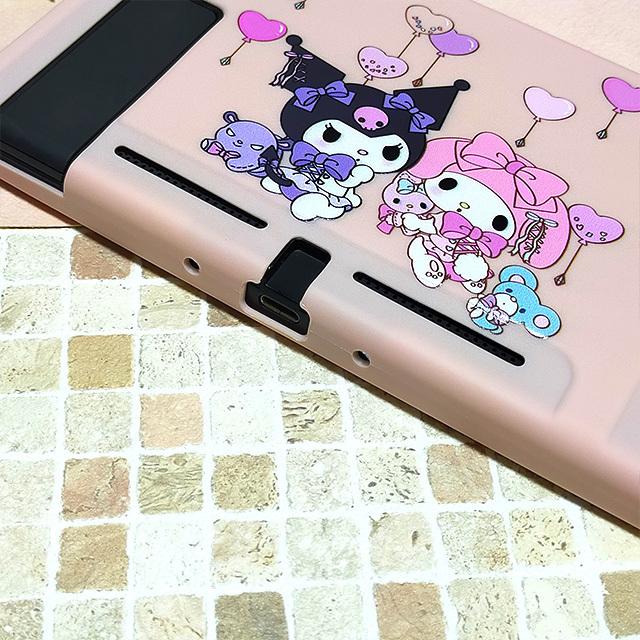 【即日~翌日発送】クロミ マイメロ ふうせん スイッチ カバー 任天堂 Switch 保護 ソフト ケース 分離式 かわいい ピンク ハート_画像5