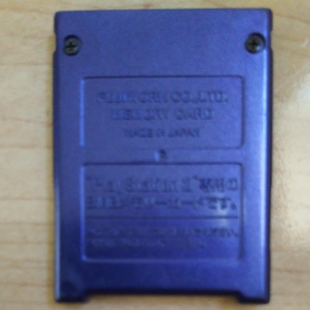 プレイステーション2 メモリーカード SONY 純正品 プレステ2 PS2 メモリーカード8MBです