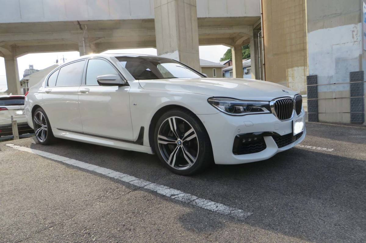 「BMW 7シリーズ 750Li Mスポーツ H.28/12登録 リサイクル料・自動車税込み スカイラウンジSR Rエンターテイメント レーザーライト 」の画像1