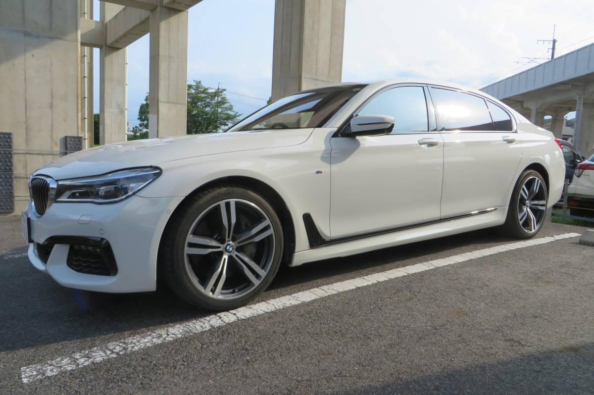 「BMW 7シリーズ 750Li Mスポーツ H.28/12登録 リサイクル料・自動車税込み スカイラウンジSR Rエンターテイメント レーザーライト 」の画像3