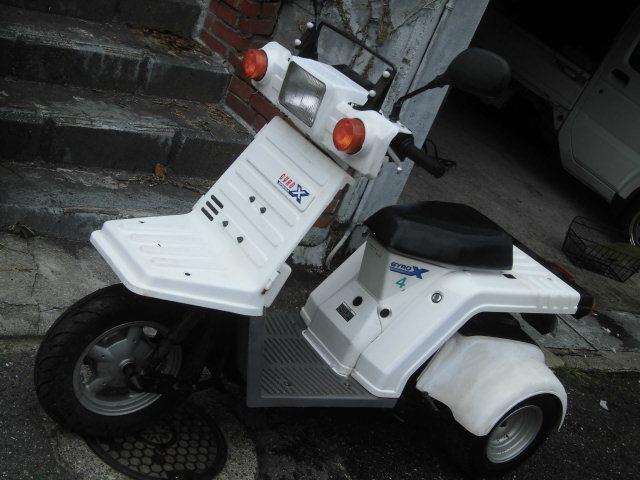 「ホンダ ジャイロX Fi4スト ミニカー登録使用中 カブ、トライク、バギー」の画像3