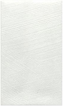 【Amazon.co.jp 限定】和紙かわ澄 和紙 ぽち袋 刷毛目鳥の子 白 20枚入 厚口_画像1