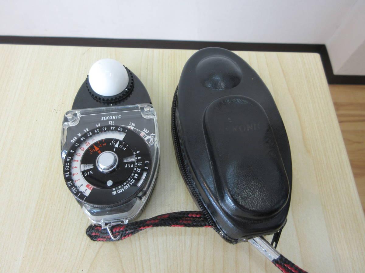 10231 SEKONIC STUDIO DELUXE 露出計 EXPOSURE METER MODEL L-28C2 カメラ用品 アクセサリー 動作未確認_画像1