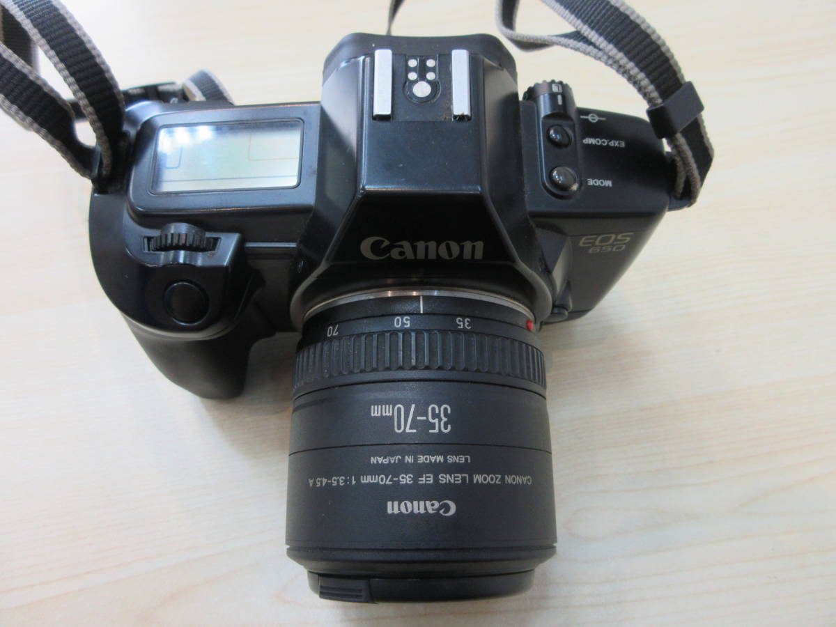 10263 Canon EOS650 キャノン CANON ZOOM LENS EF 35-70mm 1:3.5-4.5 A 35-70mm 動作未確認_画像2