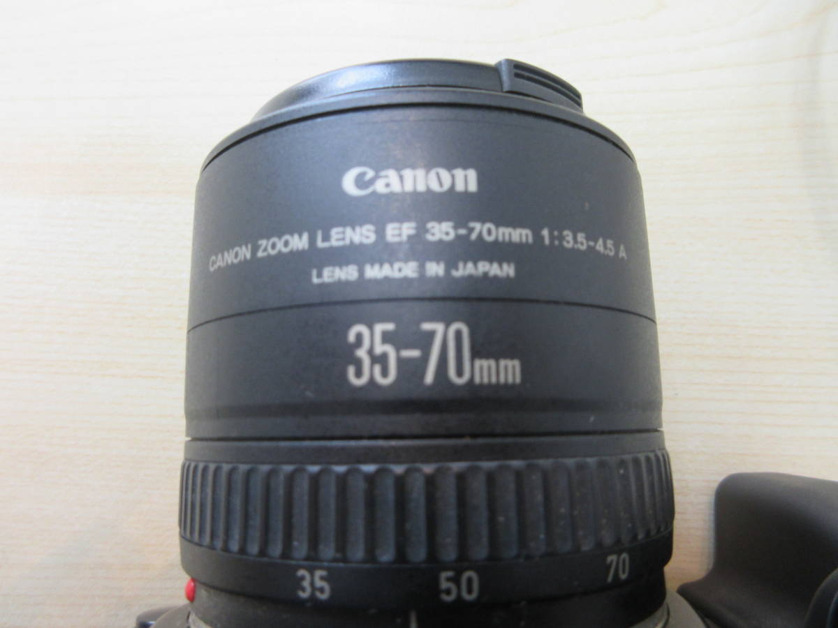 10263 Canon EOS650 キャノン CANON ZOOM LENS EF 35-70mm 1:3.5-4.5 A 35-70mm 動作未確認_画像4