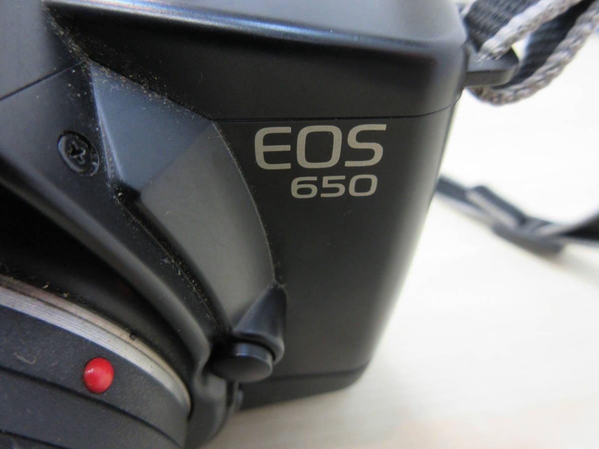 10263 Canon EOS650 キャノン CANON ZOOM LENS EF 35-70mm 1:3.5-4.5 A 35-70mm 動作未確認_画像3