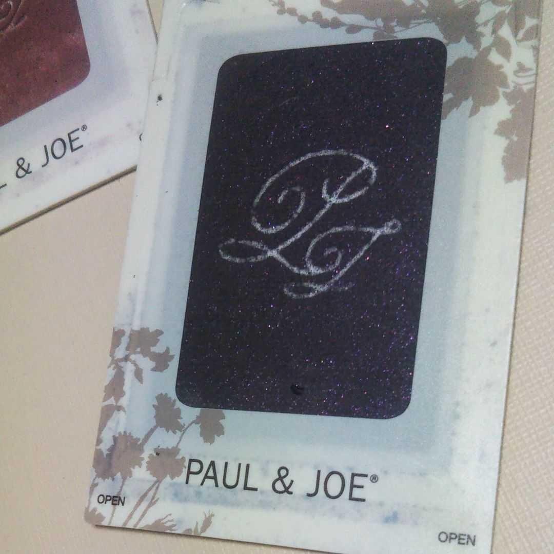 (アイカラー 4色)カード式アイシャドウ ポール & ジョー