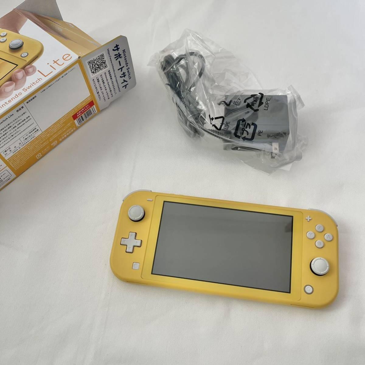 【中古美品】ニンテンドースイッチ ライト 本体 Nintendo Switch Lite イエロー_画像2