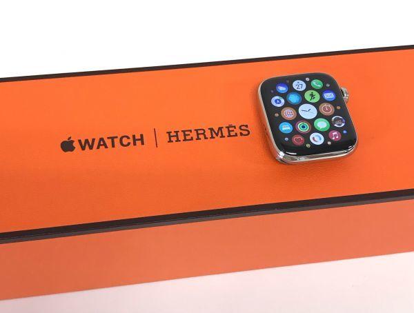 θ【ABランク/BT容量100%】Apple Watch Hermes Series6 GPS+Cellularモデル 44mm MJ493J/A 箱/ベルト/ケーブル S90468178546