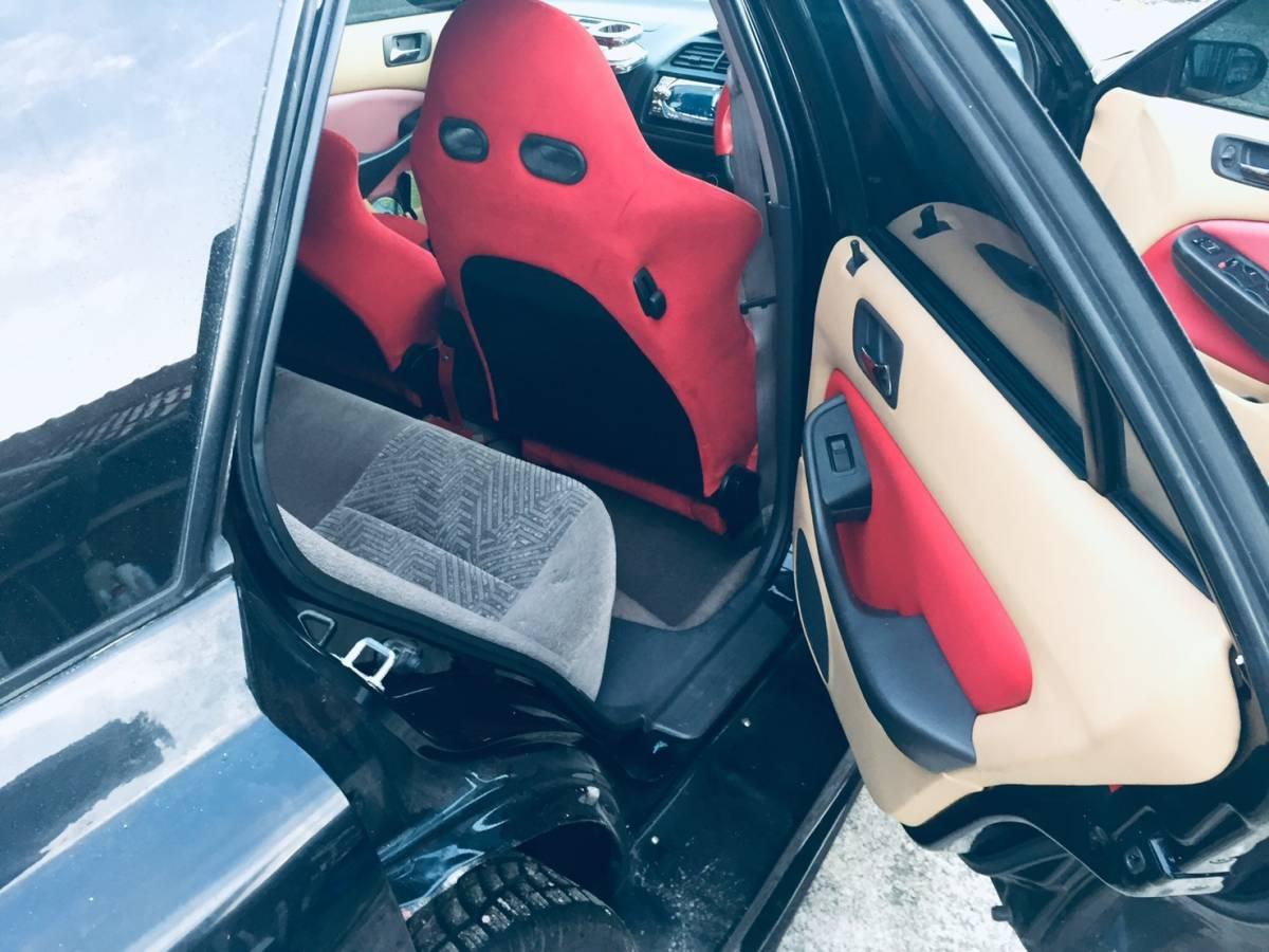 H10年式 ホンダ アコードワゴン CF6 ほぼ車検残、低走行、屋内保管、ベンツ風仕様、構造変更済み_画像5
