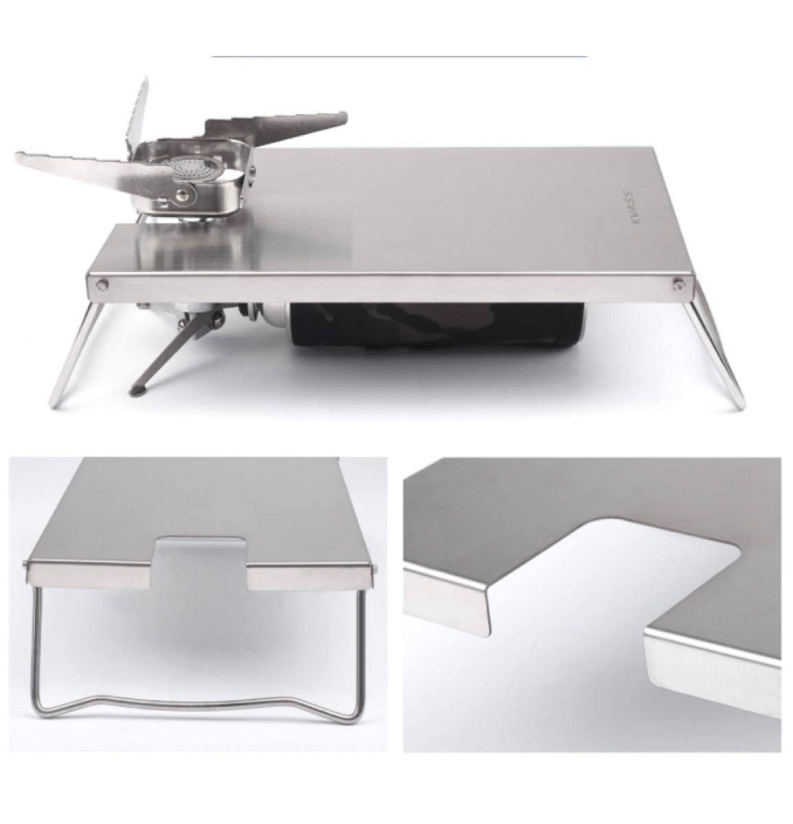 イワタニ ジュニアコンパクトバーナー CB-JCB専用  遮熱テーブル シングルバーナー