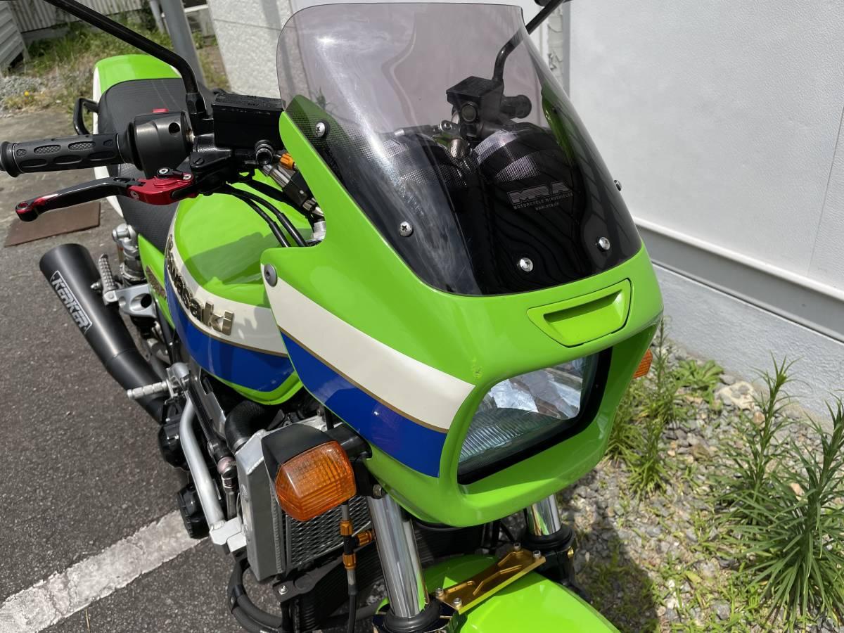 「カワサキ ZRX1100 ライムグリーン」の画像2