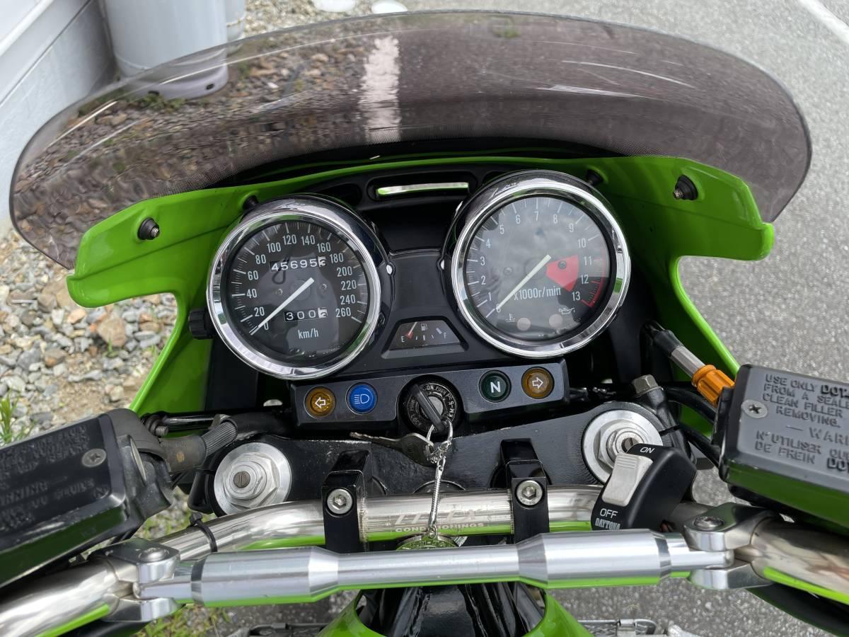 「カワサキ ZRX1100 ライムグリーン」の画像3
