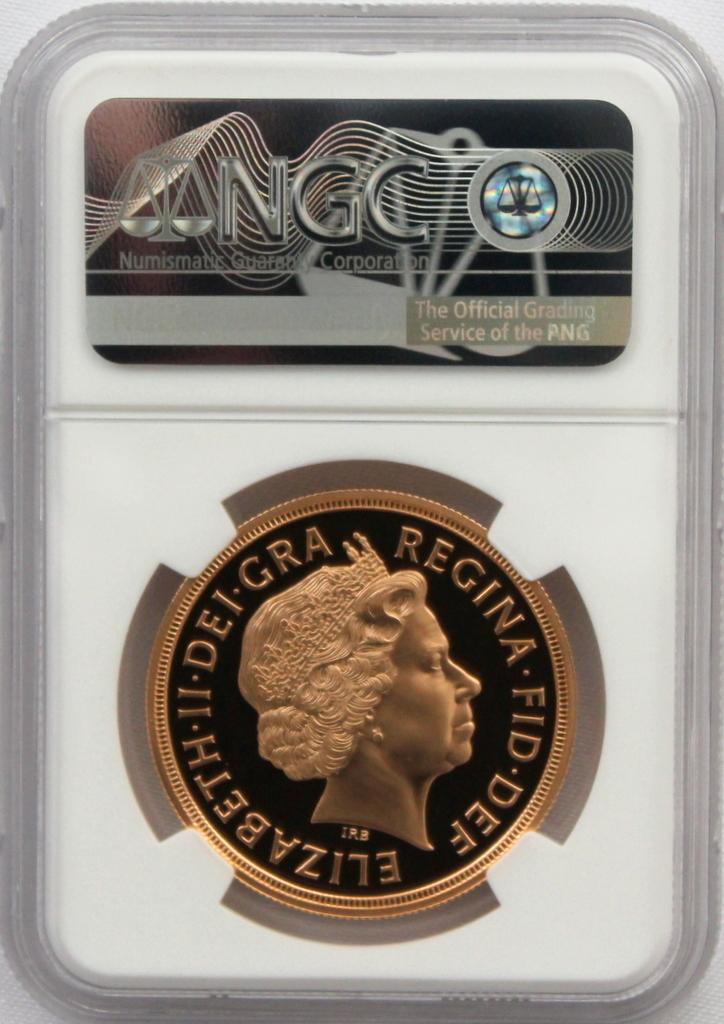 2012 イギリス ダイヤモンドジュビリー戴冠60周年記念 5ポンド 金貨 NGC PF70UC 最高鑑定品!!_画像10