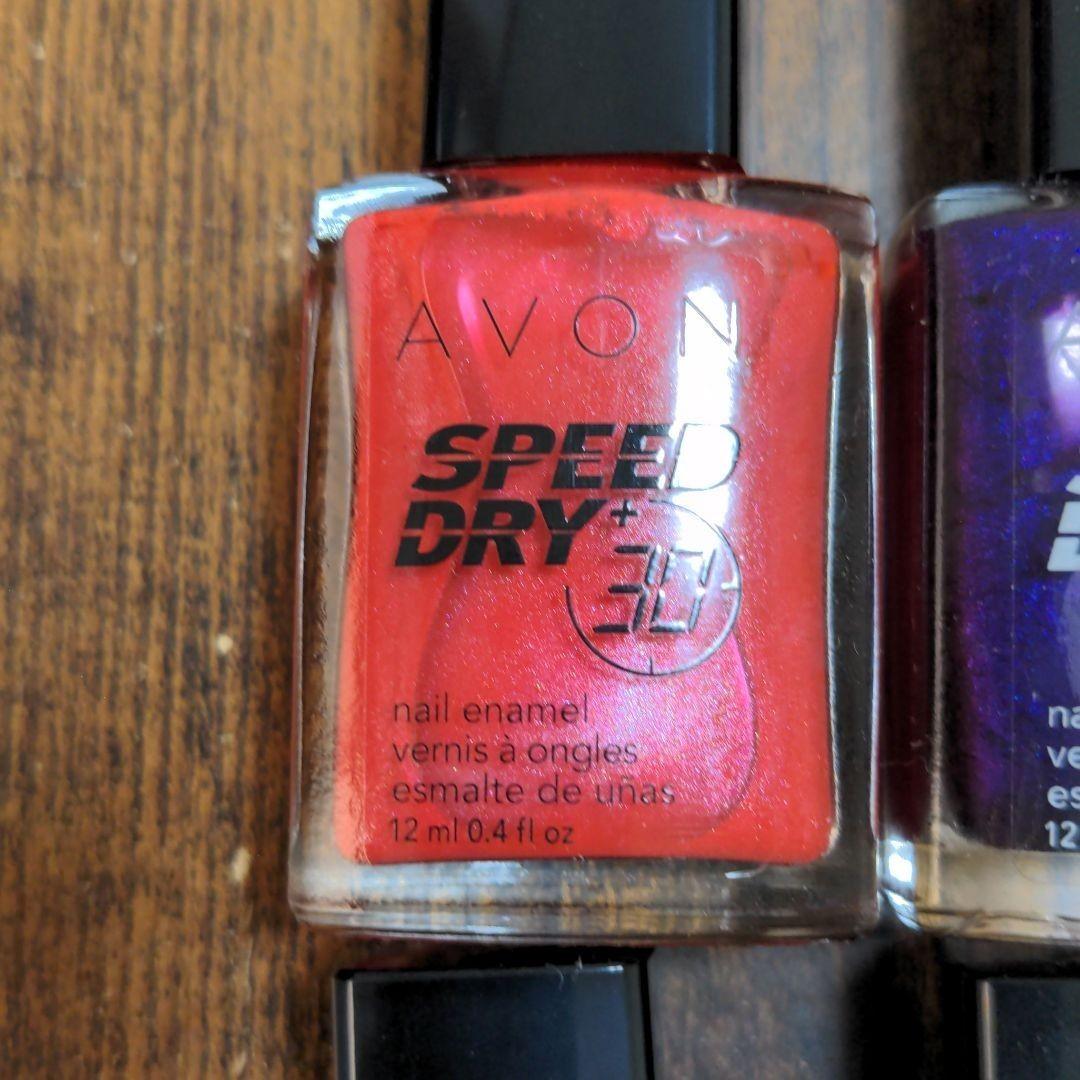 avon speed dry  ネイルカラー マニキュア ネイル ネイルポリッシュ