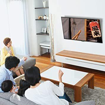 新品小型 テレビ壁掛け金具 26~55インチ モニター LCD LED液晶テレビ対応 ティルト調節式 VESA対応 82VX_画像6