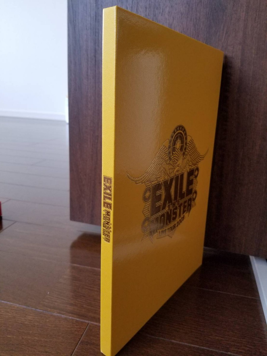 EXILE ライブツアーパンフレット