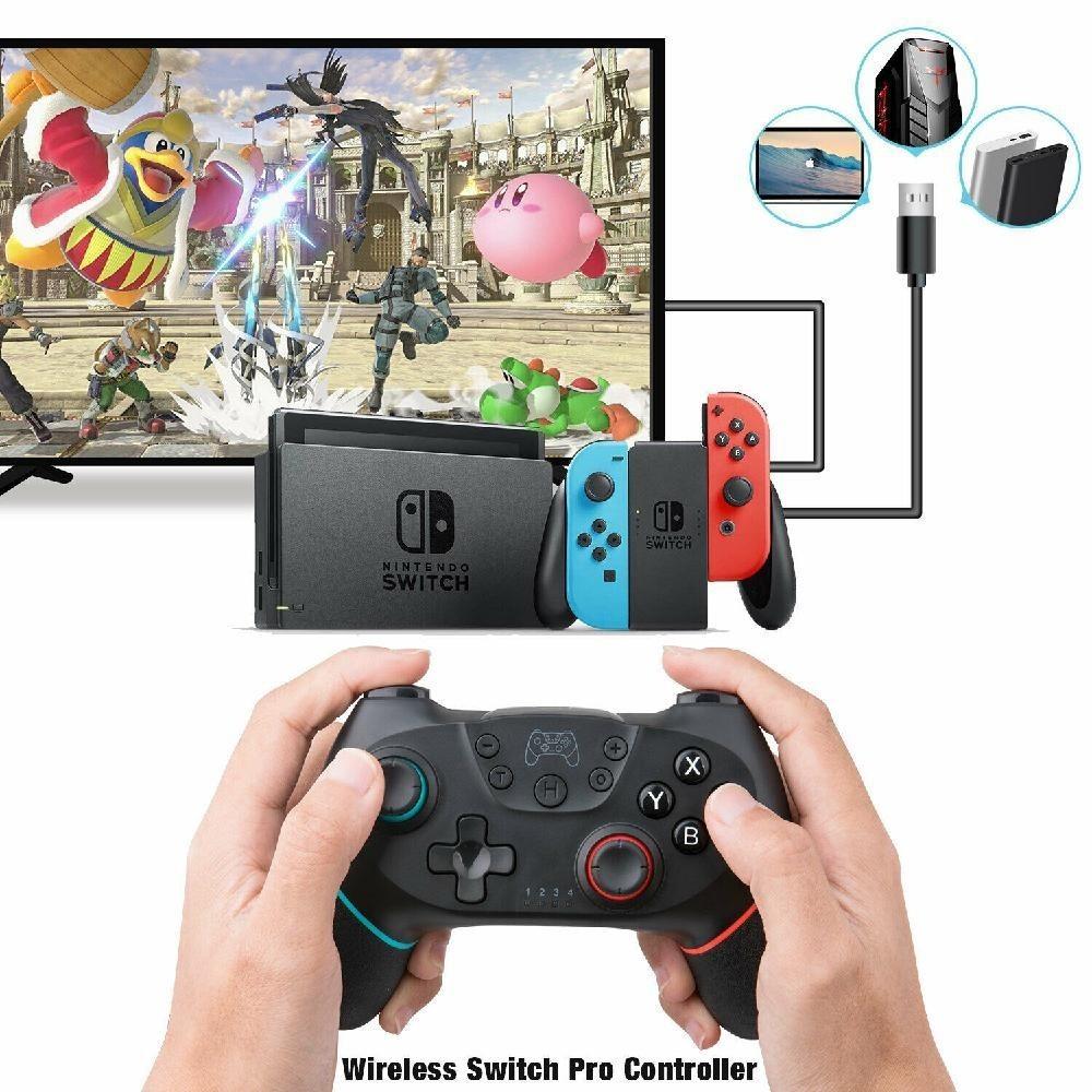 Switch プロコン 最新カラー【パステルピンク】 互換 スイッチ switch ジョイコン ワイヤレス bluetooth