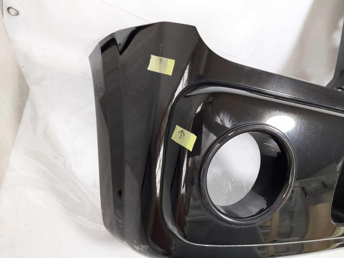 100配達先条件有 HF21S スピアーノ フロント バンパー 黒 ZJ3 ブラック HE21S アルト ラパン_画像5