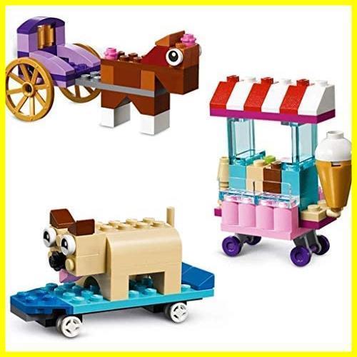 新品レゴ(LEGO) クラシック アイデアパーツ 10715 知育玩具 ブロック おもちゃ 女の子 男の子QY71_画像2