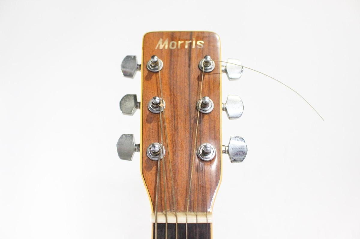 B5692 Morris モーリス MD-511 アコースティックギター A6619434 ケース付き_画像6