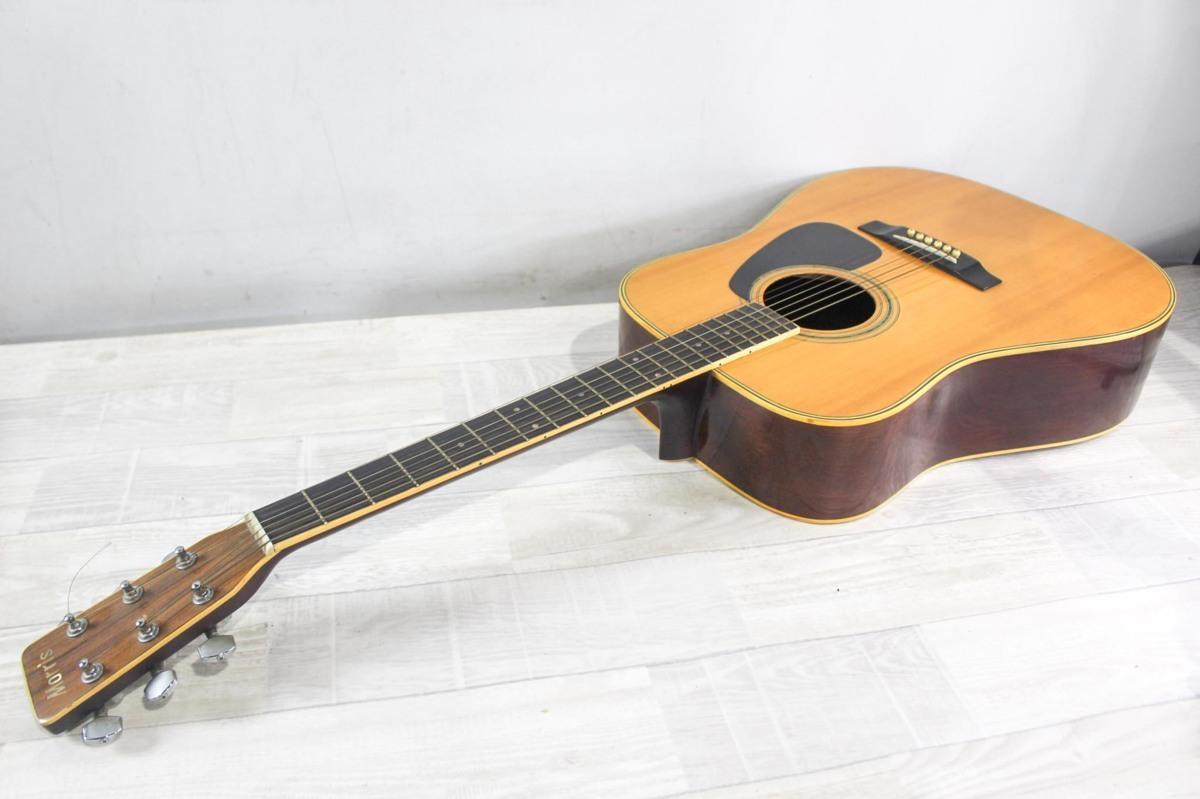 B5692 Morris モーリス MD-511 アコースティックギター A6619434 ケース付き_画像8