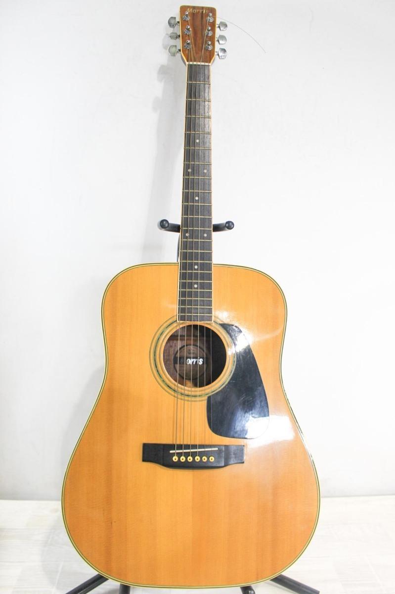 B5692 Morris モーリス MD-511 アコースティックギター A6619434 ケース付き_画像2