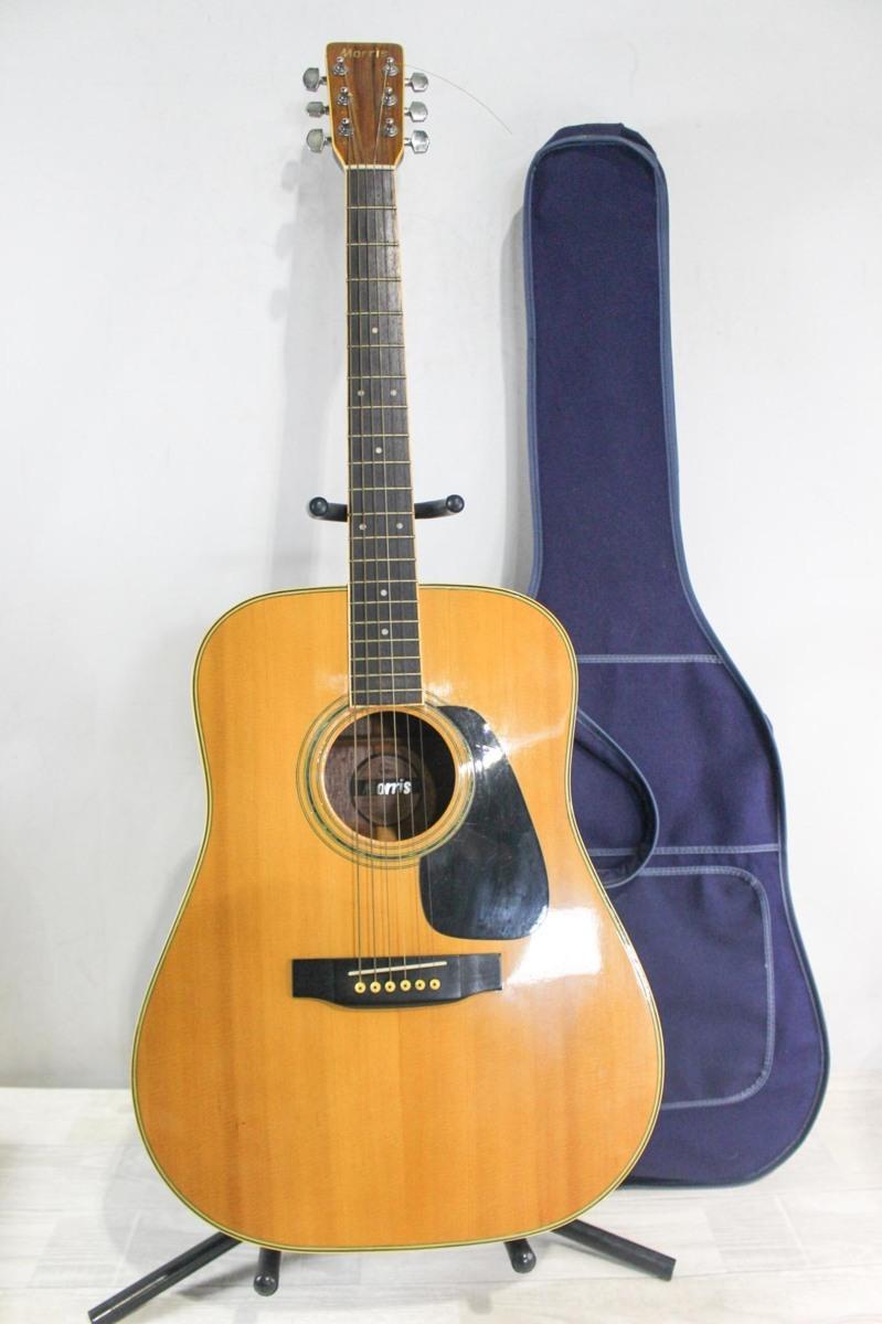 B5692 Morris モーリス MD-511 アコースティックギター A6619434 ケース付き_画像1