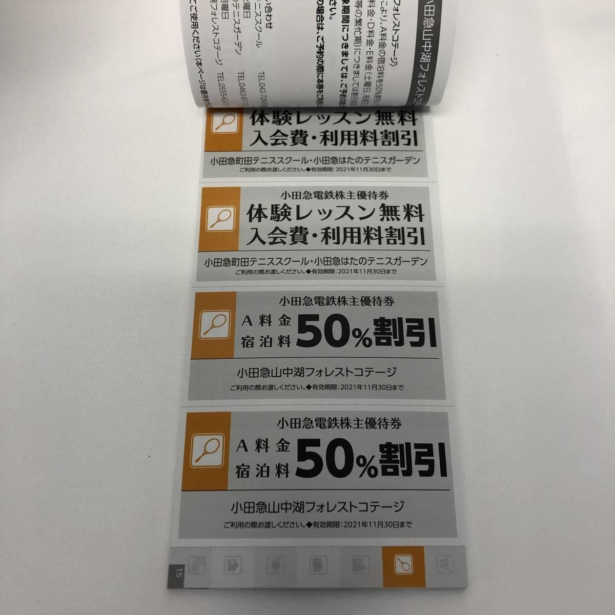 【975192】小田急電鉄 株主優待 冊子 2021年11月30日まで_画像7
