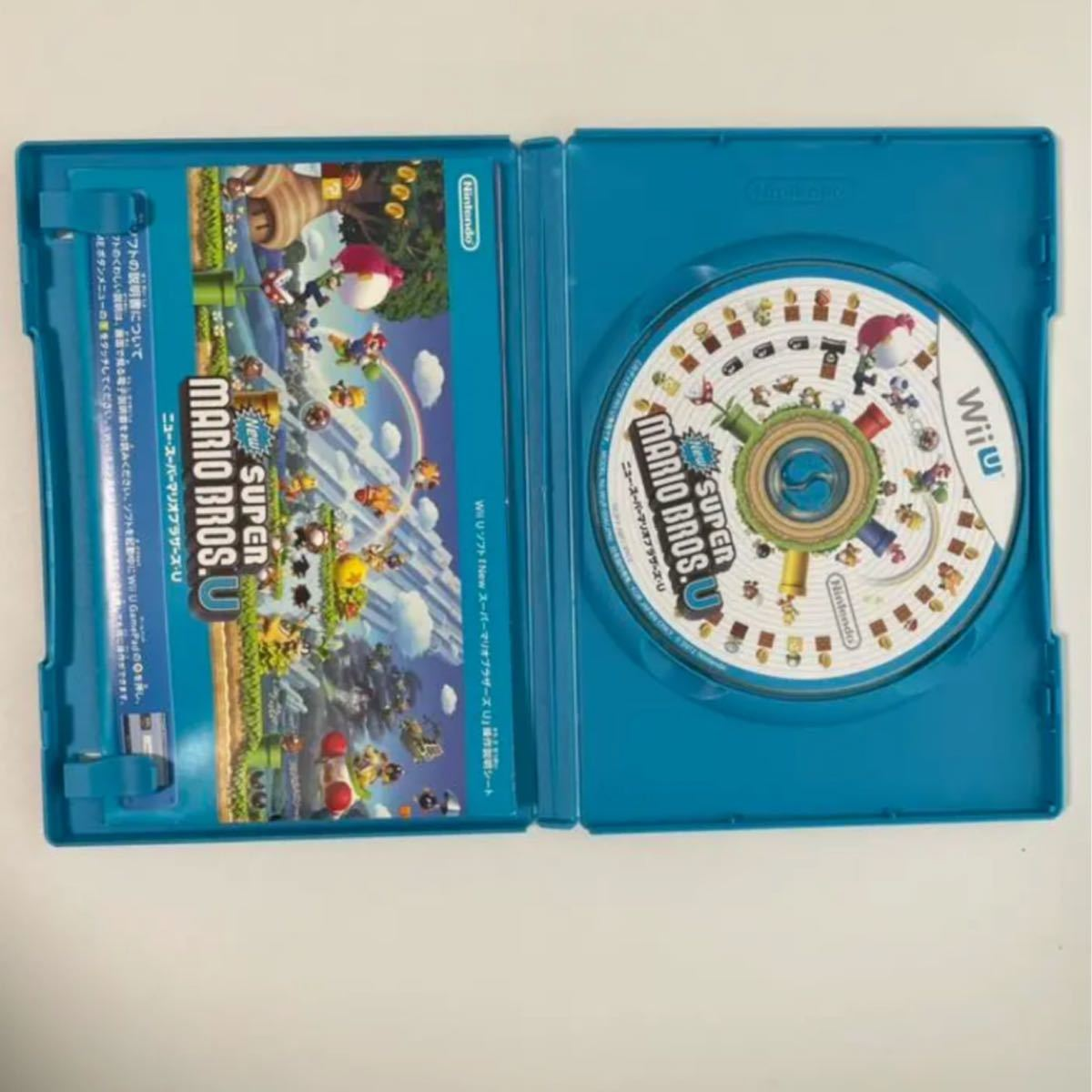 WiiU NewスーパーマリオブラザーズU WiiUソフト ニュースーパーマリオブラザーズU ソフト