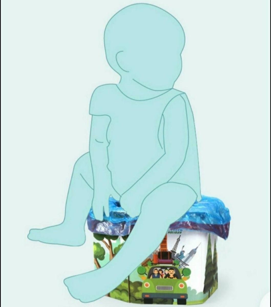 防災グッズ トイレ おまる 携帯トイレ 簡易トイレ 旅行 車内 防災用品 コンパクト 山 海 アウトドア 避難グッズ 緊急時