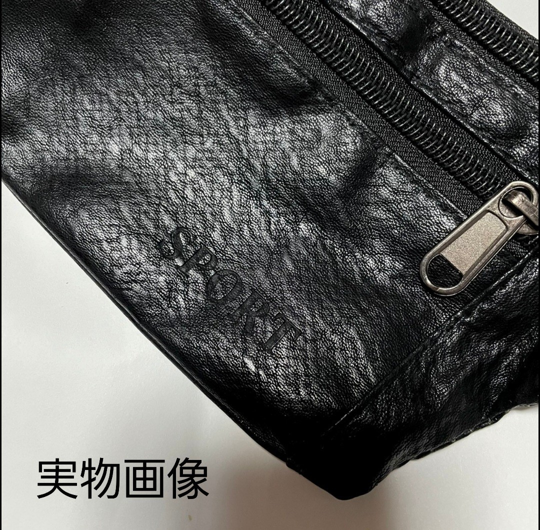 ボディバッグ メンズ ショルダー カジュアル 収納 軽量 コンパクト バッグ PUレザー サコッシュ ポーチ サマーsale!