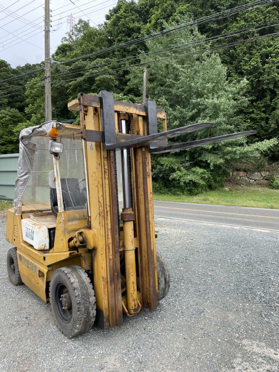 「TCM フォークリフト フルフリーマスト 2500kg 揚5000mm」の画像1