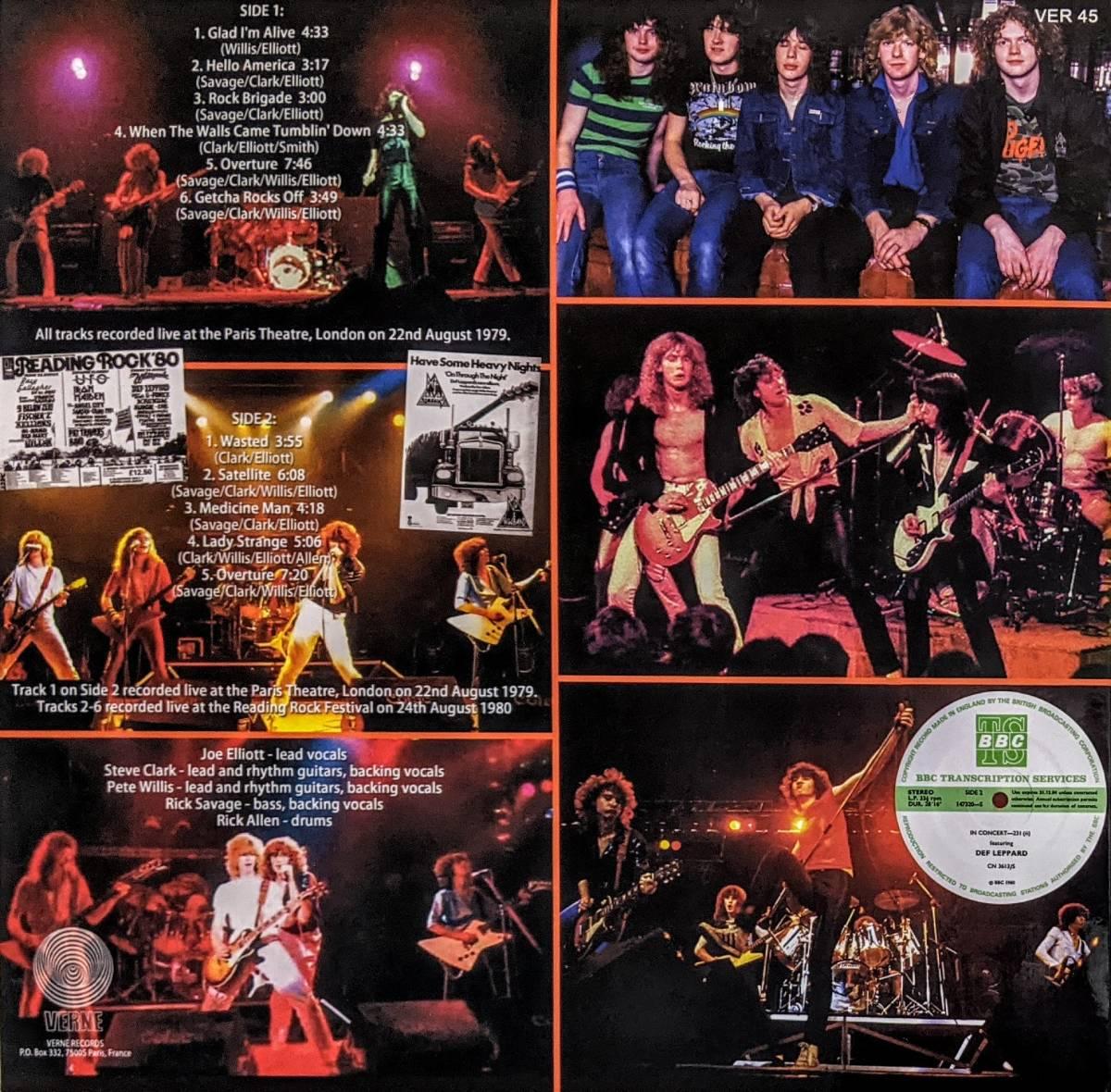 Def Leppard デフ・レパード - Live At The BBC 1979-1980 限定アナログ・レコード