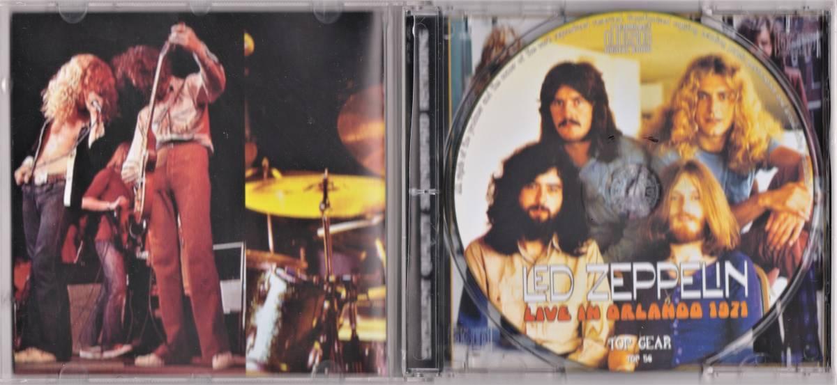 Led Zeppelin レッド・ツェッペリン - Live In Orlando 1971 500枚限定CD
