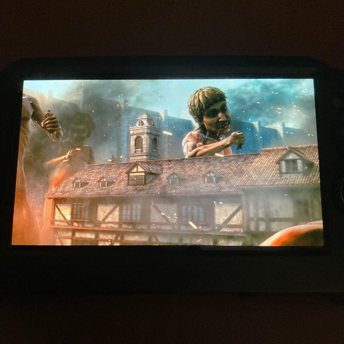 PS Vita  進撃の巨人 ソフトのみ