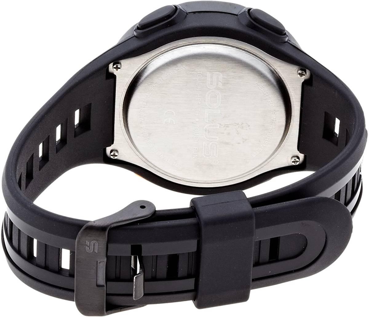 SOLUS [ солнечный s] спорт часы максимальный измеритель пульса в среднем сердце . наручные часы Pro101 стандартный импортные товары черный
