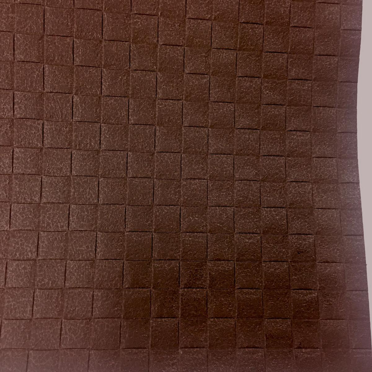 【サンゲツアウトレット】こげ茶 コードカーフ柄壁紙ビニールクロスFE4104 廃番処分品【50m】 【アクセント壁】【DIY】【リノベーション】_画像2