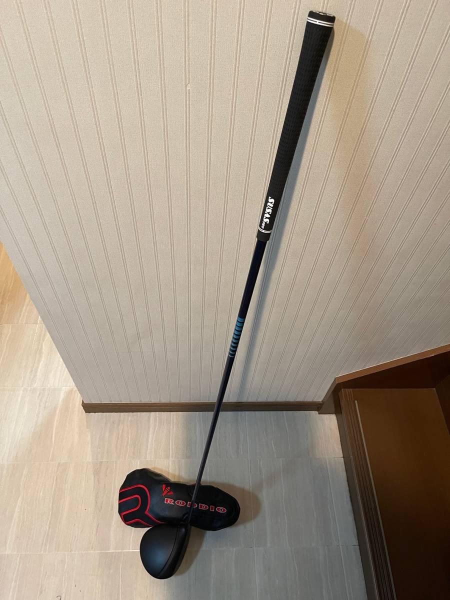 激レア RODDIO S-Design Oversized PT HIGE 6X F-TUNE ブラック 10.2° ロッディオ Sデザイン オーバーサイズ