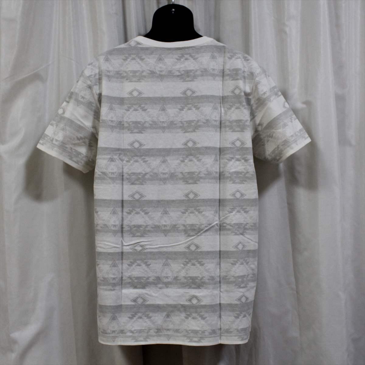 ピコ PIKO メンズ半袖Tシャツ ホワイト XLサイズ 新品 白_画像3
