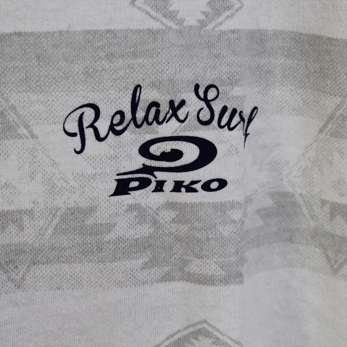 ピコ PIKO メンズ半袖Tシャツ ホワイト XLサイズ 新品 白_画像2