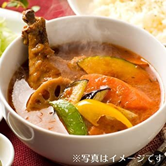 Amazon 限定 北国の 丸ごと チキン レッグ スープカレー いつも ありがとう 4食セット 中辛 御礼 御祝 ギフト セッ_画像5